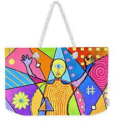 Feel The Vibes Weekender Tote Bag