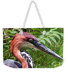 Weekender Tote Bag featuring the photograph Feeling A Bit Peckish by RC deWinter