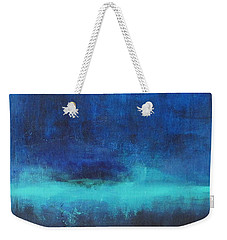 Feeling Blue Weekender Tote Bag