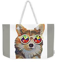 Feeling Groovy Weekender Tote Bag