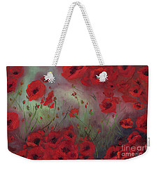 Feeling Poppy Weekender Tote Bag