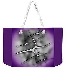 Weekender Tote Bag featuring the digital art Feelings 2 by Iris Gelbart