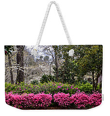 Weekender Tote Bag featuring the photograph Feels Like Home by Linda Brown