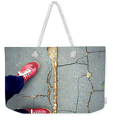 Feet Around The World #25 Weekender Tote Bag