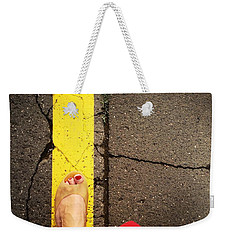Feet Around The World #27 Weekender Tote Bag