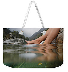 Feet On The Water Weekender Tote Bag