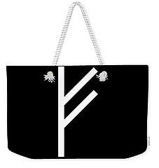 Fehu Rune Weekender Tote Bag