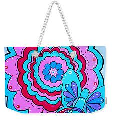 Felicity's Flower Weekender Tote Bag
