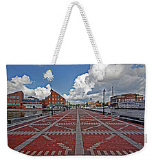 Fells Point Pier Weekender Tote Bag