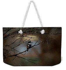 Female Belted Kingfisher 3 Weekender Tote Bag