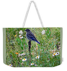 Female Bluebird Weekender Tote Bag