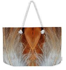 Female Feathers Weekender Tote Bag