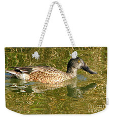 Female Gadwall Weekender Tote Bag