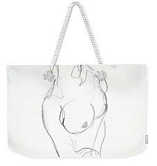 Female Nude Torso Weekender Tote Bag