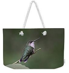 Hummingbird Weekender Tote Bag by William Tanneberger