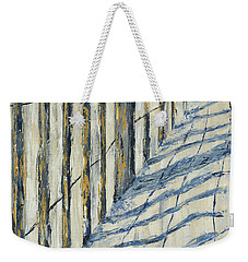 Fence At Palmetto Dunes Weekender Tote Bag