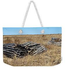 Fence Bails Weekender Tote Bag