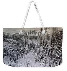 Fence In The Dunes Weekender Tote Bag
