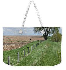 Fence Line Weekender Tote Bag by Renie Rutten