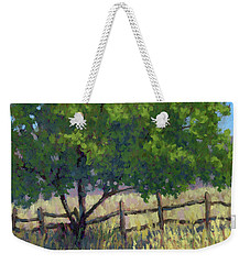 Fence Line Tree Weekender Tote Bag