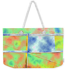 Fence Me In Colorfully Weekender Tote Bag
