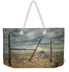 Fence Post Blues  Weekender Tote Bag