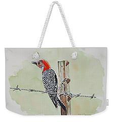 Fence Sitting Weekender Tote Bag