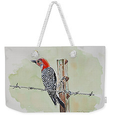 Fence Sitting Weekender Tote Bag