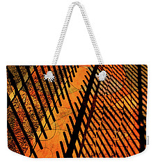 Fenced Framework Weekender Tote Bag