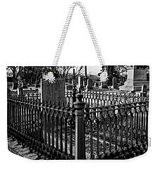 Fenced Grave Weekender Tote Bag