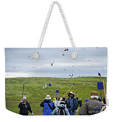 Fending Off The Terns Weekender Tote Bag