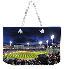 Fenway Night Weekender Tote Bag by Rick Berk