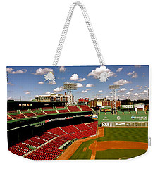 Weekender Tote Bag featuring the photograph Fenway Park Iv  Fenway Park  by Iconic Images Art Gallery David Pucciarelli