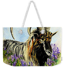 Feral Highland Buck In Heather Weekender Tote Bag