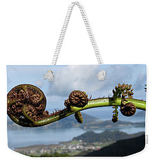 Fern Fiddlehead Weekender Tote Bag