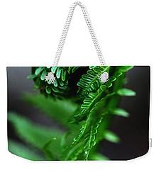 Fern Frond Weekender Tote Bag by Debbie Oppermann