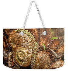 Fern Headdress Weekender Tote Bag