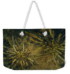Fern Series Inky Aether Weekender Tote Bag
