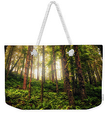 Weekender Tote Bag featuring the photograph Ferngully by Rick Furmanek