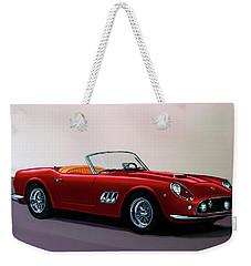 Ferrari 250 Gt California Spyder 1957 Painting Weekender Tote Bag