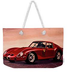 Ferrari 250 Gto 1962 Painting Weekender Tote Bag by Paul Meijering