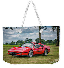 Weekender Tote Bag featuring the photograph Ferrari 328 Gts by Adrian Evans
