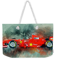 Ferrari F1 Weekender Tote Bag