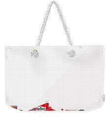 Ferrari F2001 F1 Poster Weekender Tote Bag