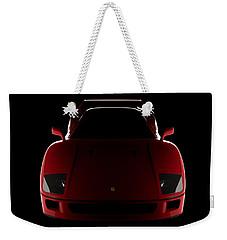 Ferrari F40 - Front View Weekender Tote Bag