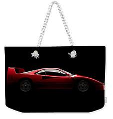 Ferrari F40 - Side View Weekender Tote Bag