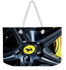 Ferrari Wheel I Weekender Tote Bag