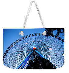 Ferris Wheel At Dusk, The State Fair Of Texas Weekender Tote Bag