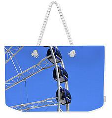 Ferris Wheel At Navy Pier, Chicago No. 1 Weekender Tote Bag