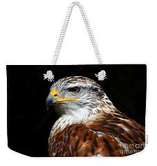 Ferruginous Hawk Portrait Weekender Tote Bag